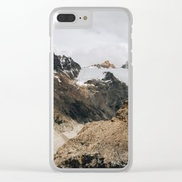 PATAGONIA I Clear iPhone Case