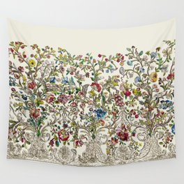 Rococo Court Mantua Wall Tapestry