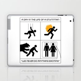 A Day In The Life Of A Stuntman Laptop & iPad Skin