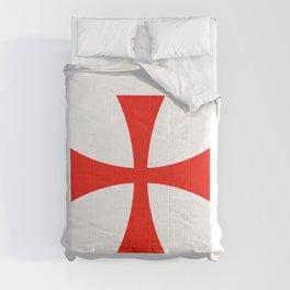Knights Templar cross Comforters