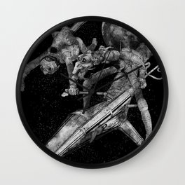 Don Quixote and Sancho. Wall Clock