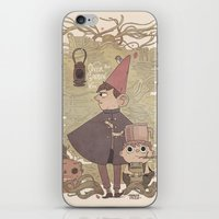 over the garden wall iPhone & iPod Skins featuring Over the Garden Wall by Hamish Steele
