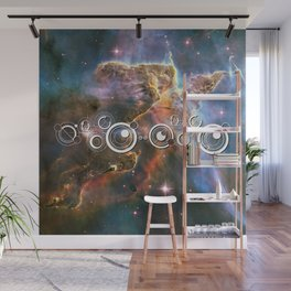 Doctor Who Timey-Wimey with the Carina Nebula Wall Mural