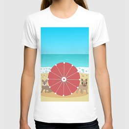 Holiday Romance - Behind the Red Umbrella T-shirt