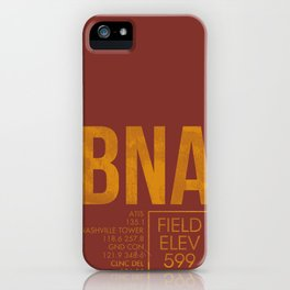 BNA iPhone Case