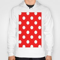 dots Hoodies featuring Dots by Ace of Spades