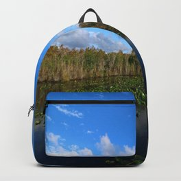 Blue Hour In The Everglades Backpack