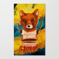 le petit prince Canvas Prints featuring Le Petit Prince Fan by Hopeazul