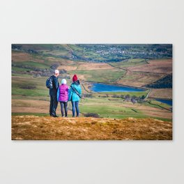 Fell walkers #1 Canvas Print