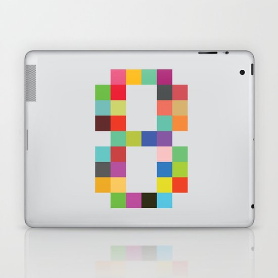 Eight Bit Laptop & iPad Skin