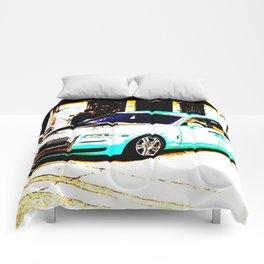 Rolls R. Light blue Comforters