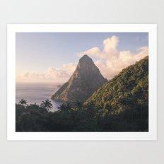 Along the Edge of the Equator Art Print