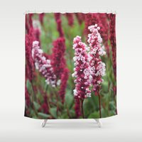 norway Shower Curtains featuring Norway I by Cynthia del Rio