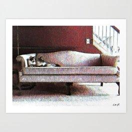 Felines Be Like Art Print
