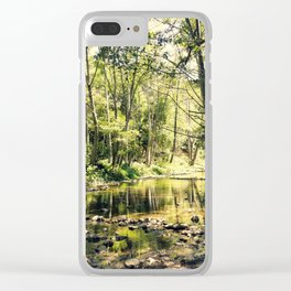 Bay Area Backwoods Clear iPhone Case