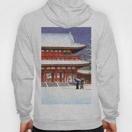 Snow In The Heianjingu Shrine - Digital Remastered Edition Hoody