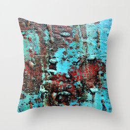Magic Skin texture  Throw Pillow