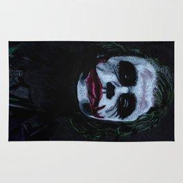 The Joker in the dark. Rug