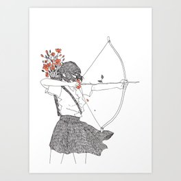Lovers [1] Art Print