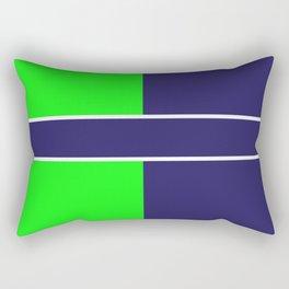 Team Colors...... 6 Lime green /navy Rectangular Pillow