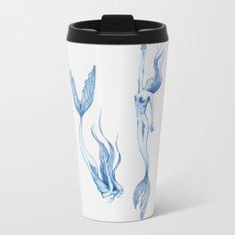 Blue Mermaids Travel Mug