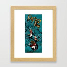 Paper Jam Poster Framed Art Print