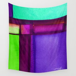 Color Block 4 by Kathy Morton Stanion Wall Tapestry