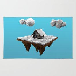 lowpoly winter Rug