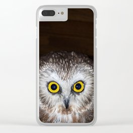 Owl Get Your Ass Clear iPhone Case