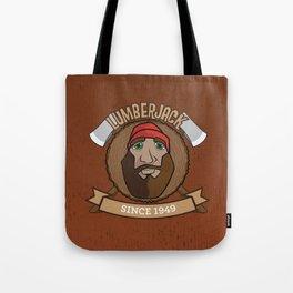 Lumberjack Since 1949 Tote Bag