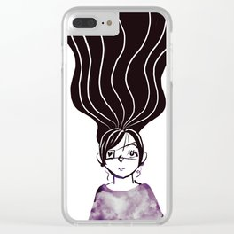 I can see trough the sky inside you... Clear iPhone Case
