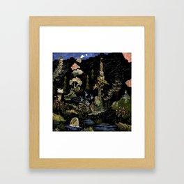 Cadilac Swamp Tank Framed Art Print