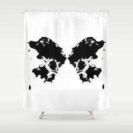 Butterfly Denmark Shower Curtain
