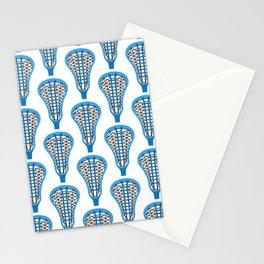 Girls'/Women's Lacrosse Sticks - Blue Stationery Cards