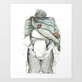 unlatched Art Print