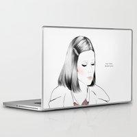 tenenbaum Laptop & iPad Skins featuring Gwyneth Paltrow (as Margot Tenenbaum) - Melancholia Serie by Sol Fortuny
