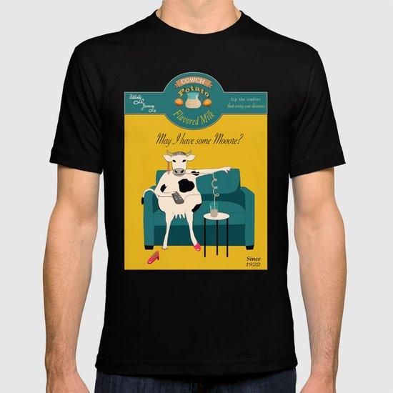Cowch Potato flavored milk T-shirt
