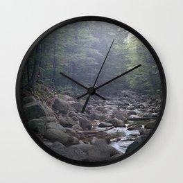 rocky creek Wall Clock