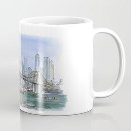Brooklyn Bridge in August Coffee Mug