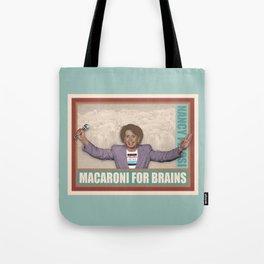 Macaroni For Brains Tote Bag