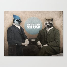 Mordecai & Rigby Canvas Print