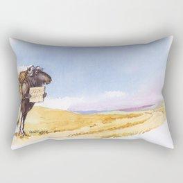 greener grass Rectangular Pillow