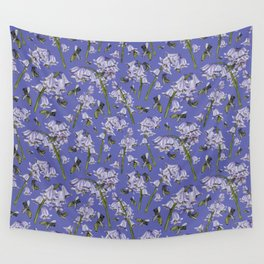 Bluebells and Busy Bees Wall Tapestry