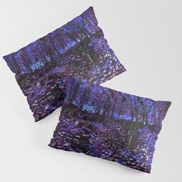 Van Gogh Trees & Underwood Purple Blue Pillow Sham