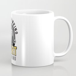Stop Thinking Start Drinking Gentleman Coffee Mug