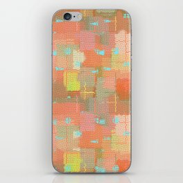 Abstract Color Splash iPhone Skin