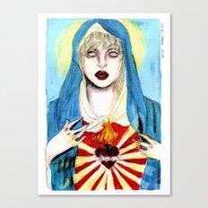 Goddess courtney love Canvas Print