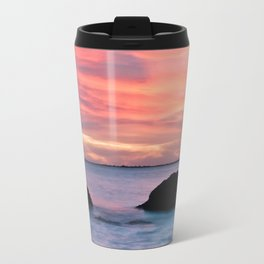 Natural Watercolors Travel Mug