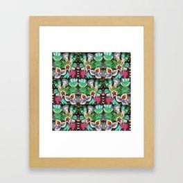 Flora + Fauna No.3 Framed Art Print
