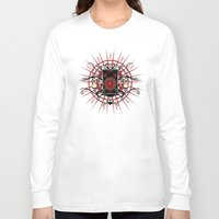 sound Long Sleeve T-shirts featuring Sound by Carly Curgenven
